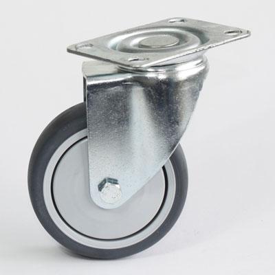 Rolle für Apparate mit Platten-Lenk-Gabel, Durchmesser 100 mm