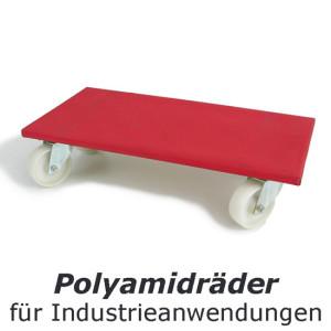 Erfahren Sie mehr über die Einsatzzwecke unserer Polyamidräder